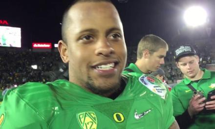Former Oregon Receiver Keanon Lowe Stopped a Gunman at a Portland High School