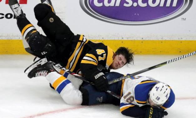 This is the Most Vicious Hit of the NHL Playoffs So Far