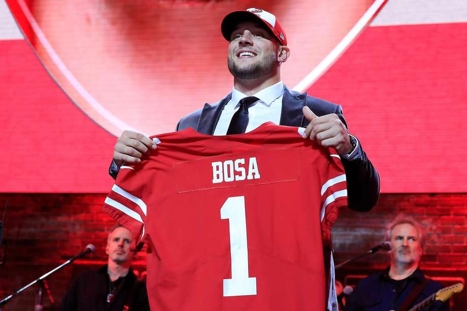 49ers Did Ask Nick Bosa About His Controversial Tweets