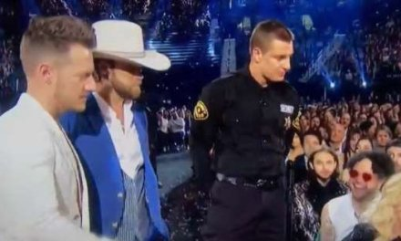 Watch Gronk Reemerge as Security Guard at Billboard Music Awards