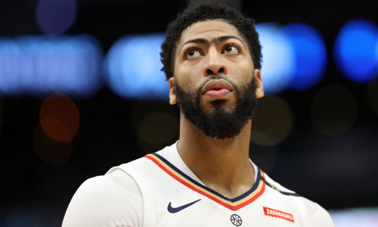 Here's the Favorite Team to Land Anthony Davis According to an Oddsmaker