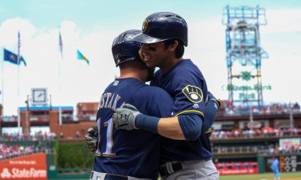 Christian Yelich Homers Twice During 11-3 Rout of the Phillies