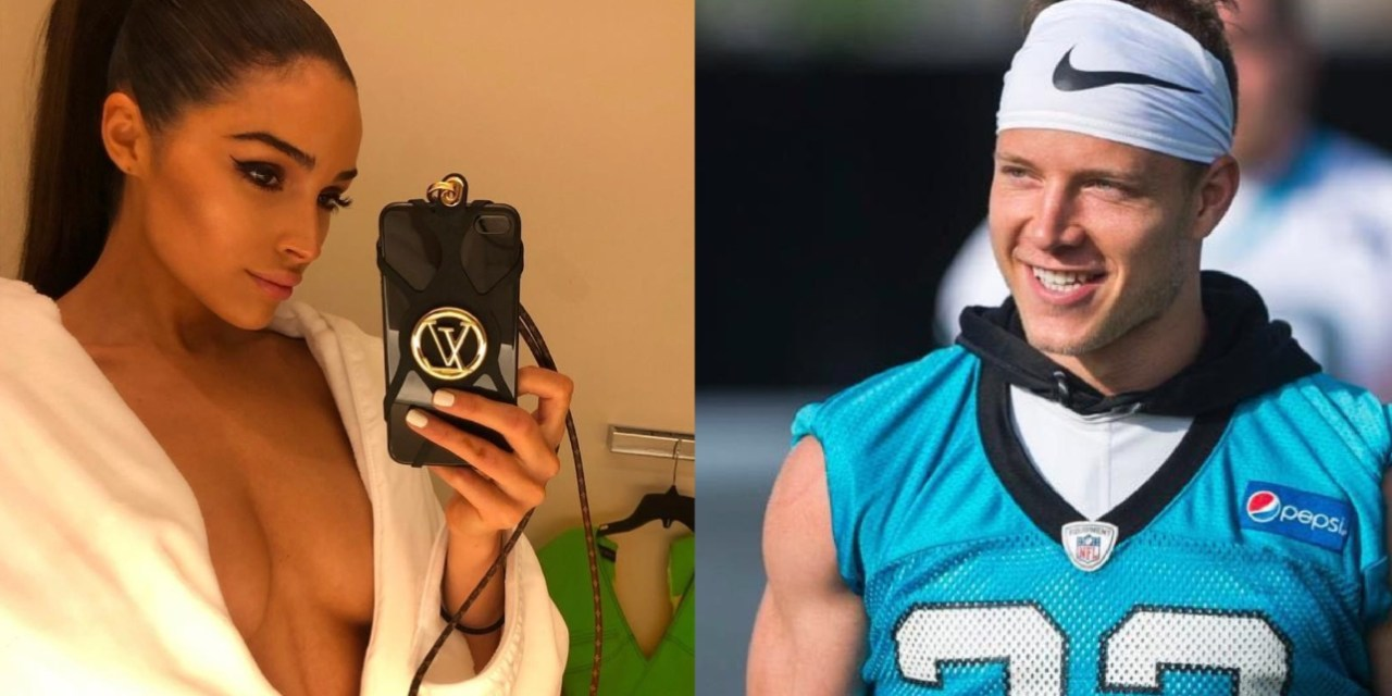 Panthers RB Christian McCaffrey Likes What He Sees in Olivia Culpo's Latest IG Post