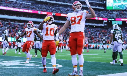 "Travis Kelce Says Tyreek Hill's Return to the Chiefs is ""Still Up in the Air"""