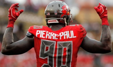 Jason Pierre-Paul Involved in an Early Morning Single Car Accident