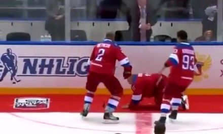Vladimir Putin Scored 8 Goals in a Game to Prove He's Still the Most Dominant Hockey Player on the Planet