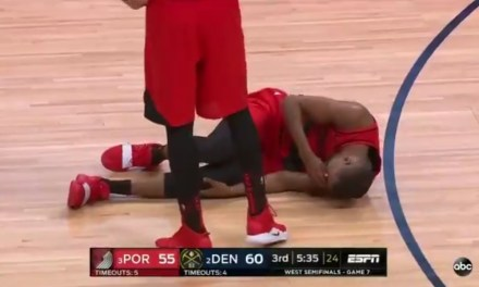 Rodney Hood Left Game 7 With a Knee Injury