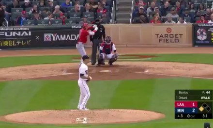 Shohei Ohtani Homered for the First Time This Season