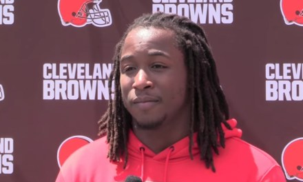 Kareem Hunt Spoke to the Cleveland Media Says He's Not Going to Mess Up His Second Chance