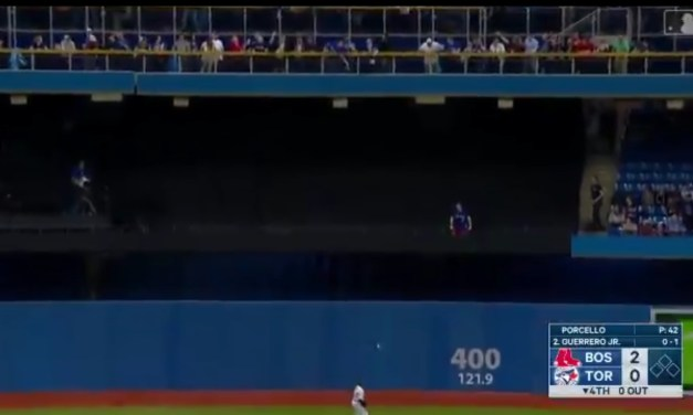 Vladimir Guerrero Jr. Hit His First Career Homer in Toronto