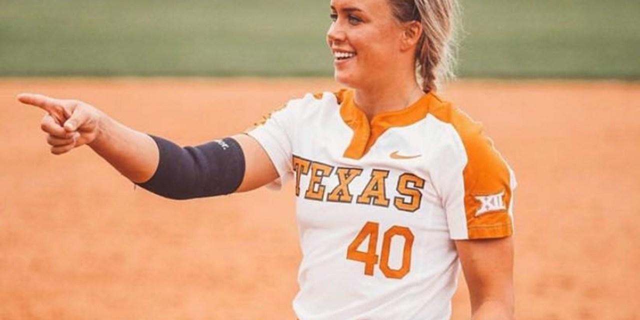Texas Softball Pitcher Miranda Elish Took a Thrown Ball to the Face