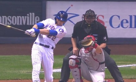 Christian Yelich Hit His League Leading 20th Home Run