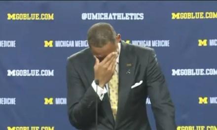 Juwan Howard Got Emotional During Michigan Introductory Press Conference