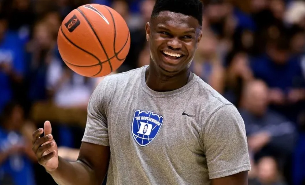 Zion Williamson is Still Wearing Nikes