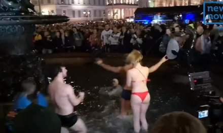 Finnish Hockey Fans Celebrate World Championship Win Their Own Way