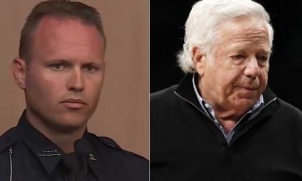 Robert Kraft's Legal Team is Focusing on Officer Scott Kimbark
