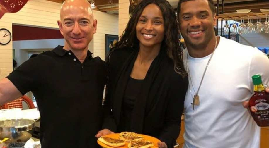 What Jeff Bezos Taught Seattle Seahawks QB Russell Wilson