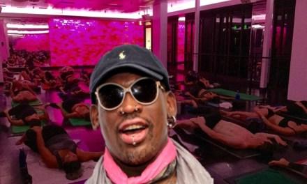 Dennis Rodman Accused Of Robbing a Yoga Studio