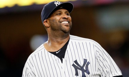 CC Sabathia Handed Out His Own Star Wars Bobblehead Dressed as Yoda