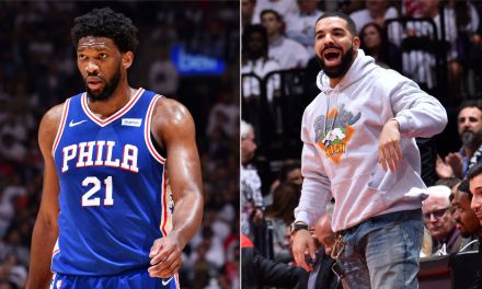 Joel Embiid Sent a Warning to Drake after Checking Out