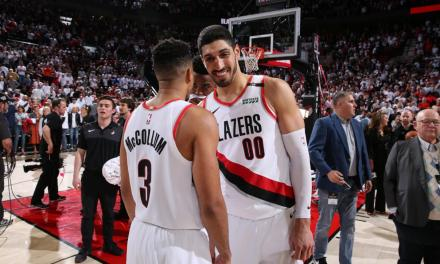 Enes Kanter Trolled the Nuggets after Blazers Game 7 Win