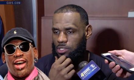 Dennis Rodman Goes HAM At LeBron James and Kevin Durant
