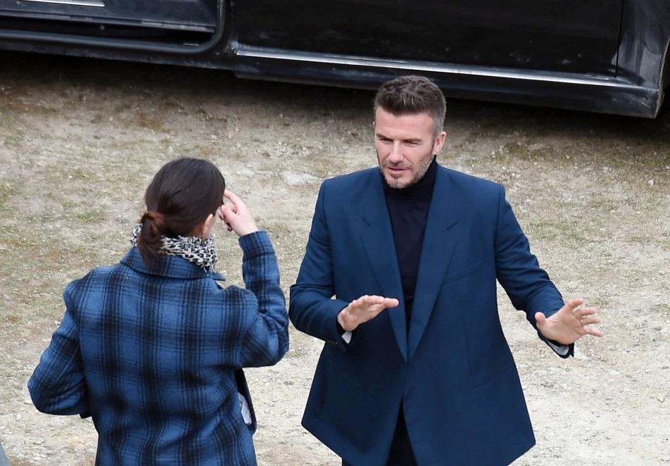 David Beckham Commits a Serious Fashion Faux Pas