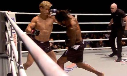 Former UFC Top Prospect Sage Northcutt Got KTFO