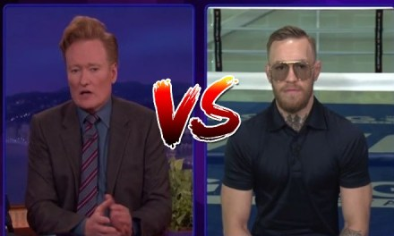 Conor McGregor Gladly Accepts Conan O'Brien's Challenge