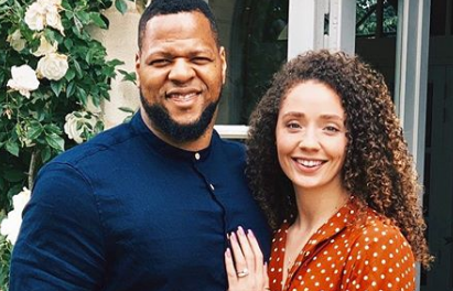 Ndamukong Suh and His Girlfriend Katya Leick Got Engaged While on Vacation in France