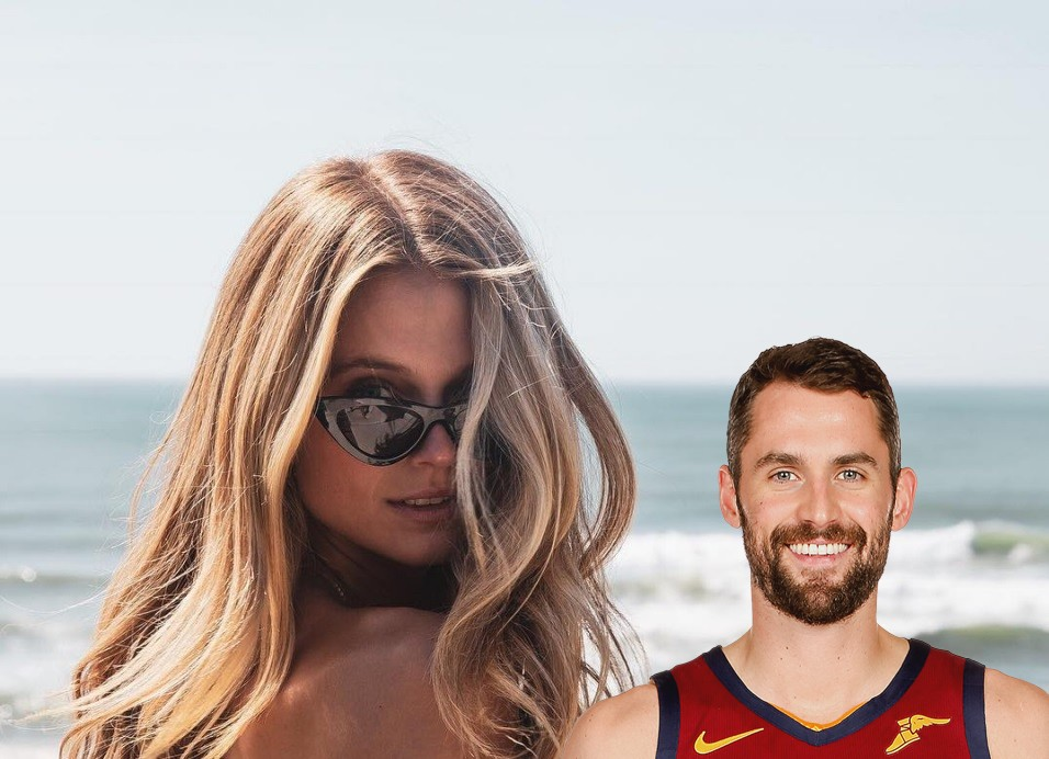 Kevin Love's Girlfriend Kate Bock Front and Center to See ...