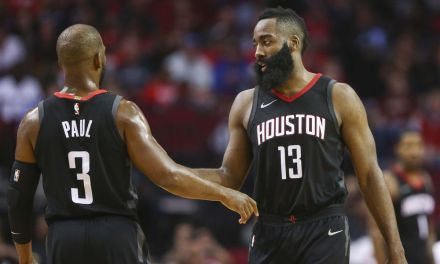 James Harden and Chris Paul Got into a Verbal Back-and-Forth in the Locker Room after Game 6 Loss