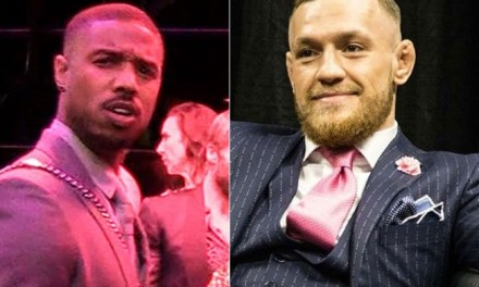 Michael B. Jordan Asked About Conor McGregor In 'Creed 3'