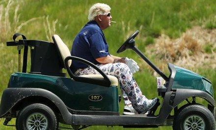 A Peek Inside John Daly's Cart at the PGA Championship