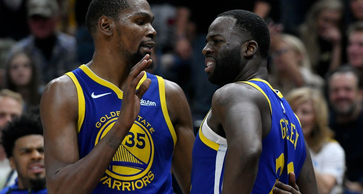 JaVale McGee Explains the Kevin Durant-Draymond Green Relationship