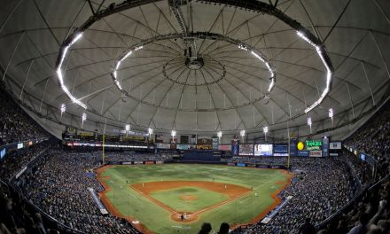 HR ball Results in an Out, Blame Tropicana Field