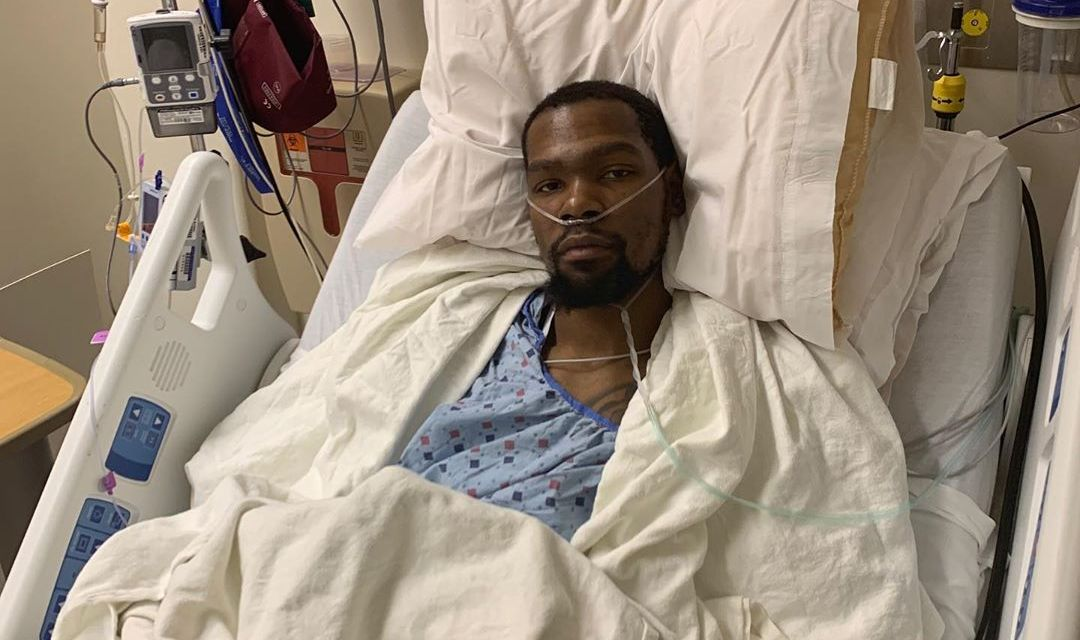 Kevin Durant Gives Update on His Devastating Injury