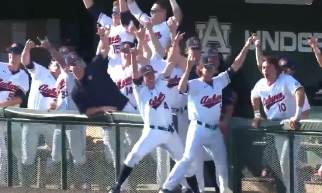 Auburn Beat the Beat in the Dugout After Scoring 13 Runs in the First Inning