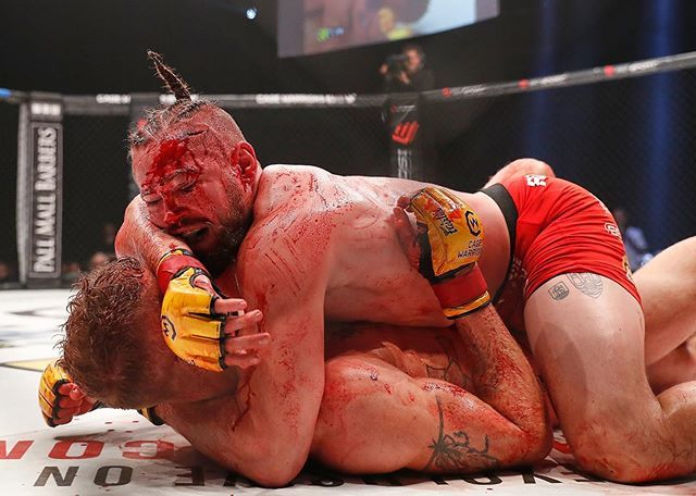 Fight Called a No-Contest Due to the Amount of Blood on the Canvas