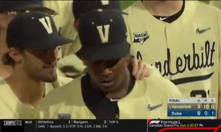 Vanderbilt Pitcher Kumar Rocker Struck Out 19 During No-Hitter over Duke