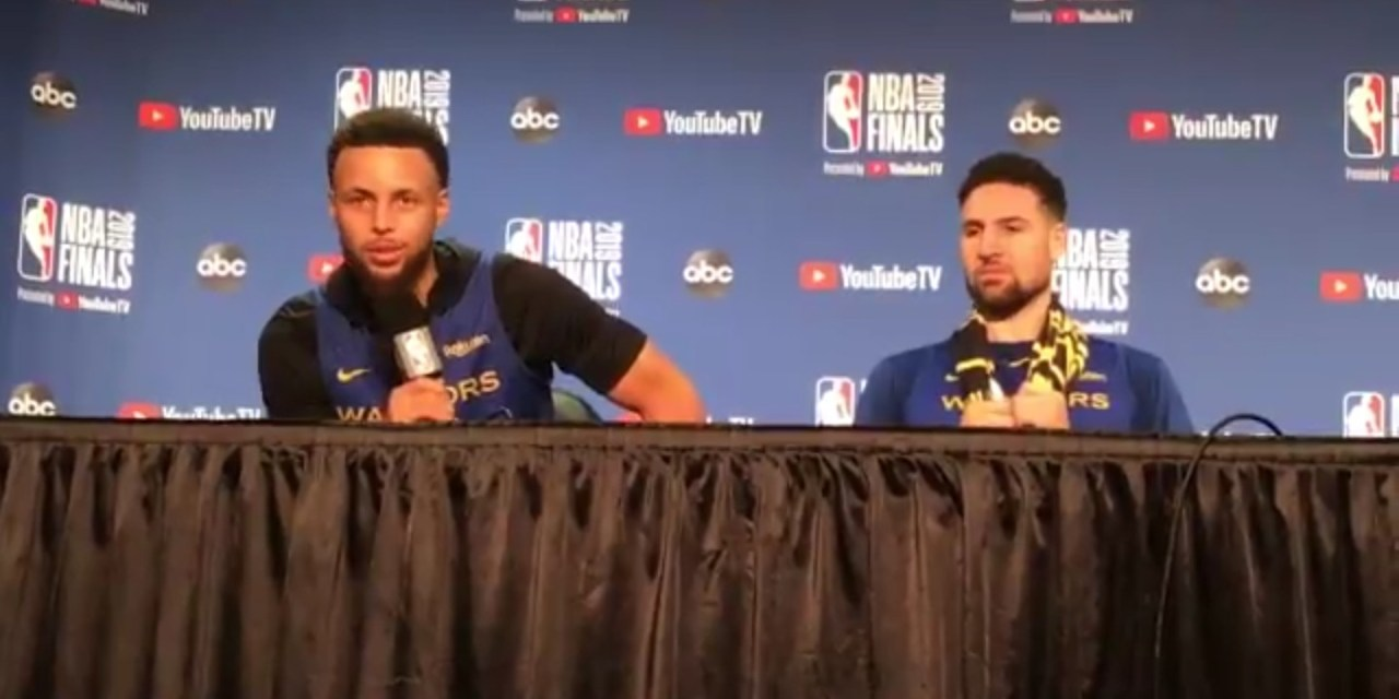 Steph Curry Responds to Raptors Fans Dropping F Bombs on His Mom