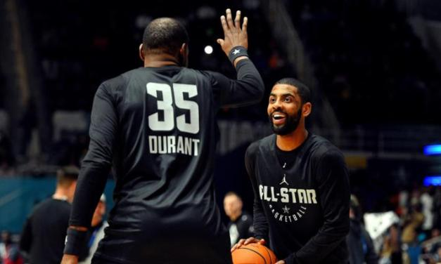 Kevin Durant Reportedly Met with Kyrie Irving in New York