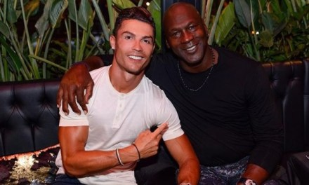 Michael Jordan and Cristiano Ronaldo Go on a Double Date in Monaco