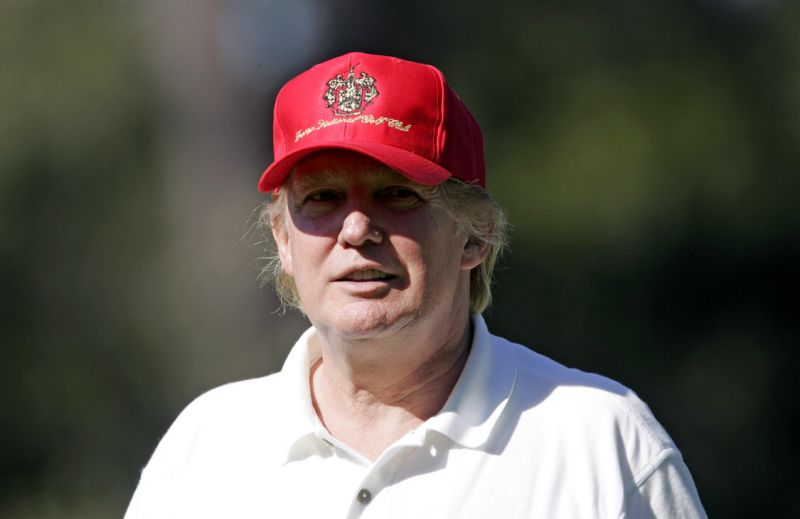 Donald Trump Really Did Once Hit a Hole-in-One at Pebble Beach