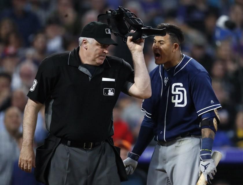 MLB, Umps Union Spar Over Manny Machado Suspension on Social Media