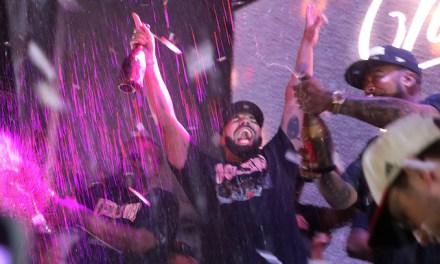 Drake Celebrated Raptors' Championship on His Private Plane 'Air Drake'