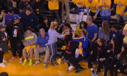Fan Who Shoved Kyle Lowry Reportedly Part of the Warriors Ownership Group