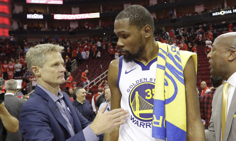 After the Game Steve Kerr Dropped this Nugget about Kevin Durant
