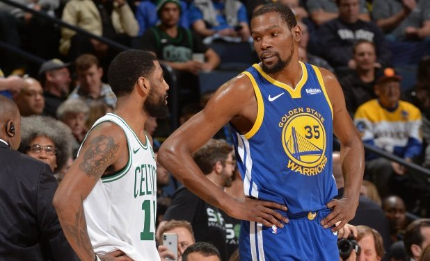 Kyrie Irving and Kevin Durant Want to Play Together and Have Already Met Twice