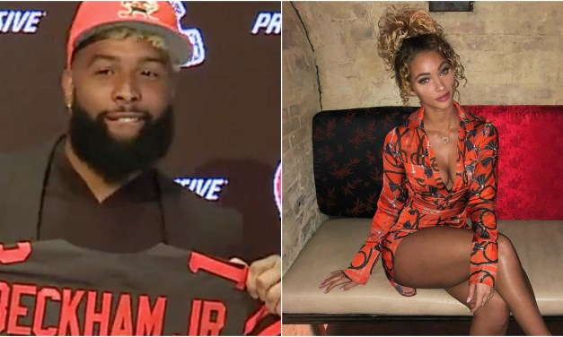 Odell Beckham Jr. Spotted at Las Vegas Strip Club with Lolo Wood